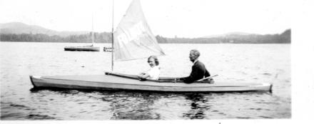 1930s Folbot w Sail